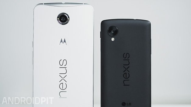 nexus 6 vs nexus 5 comparison back ANDROIDPIT