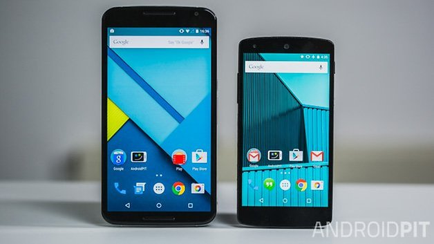 nexus 6 vs nexus 5 comparison front02 ANDROIDPIT