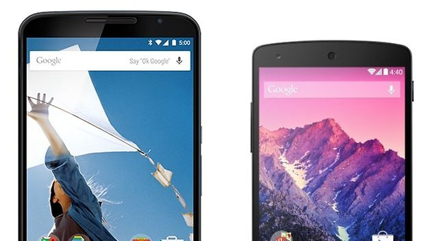 nexus6 nexus5 comparison