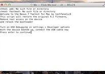 Rooten leicht gemacht: Nexus 7-Toolkit jetzt auch für Mac