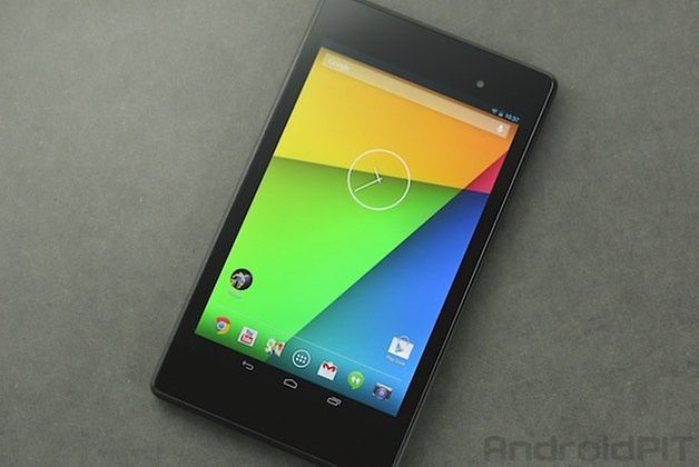 nexus7 front display