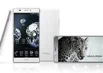 Pantech Vega Iron: Smartphone mit fast rahmenlosem Display vorgestellt