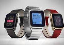 Pebble Time Steel angekündigt: 10 Tage Akkulaufzeit und edles Design