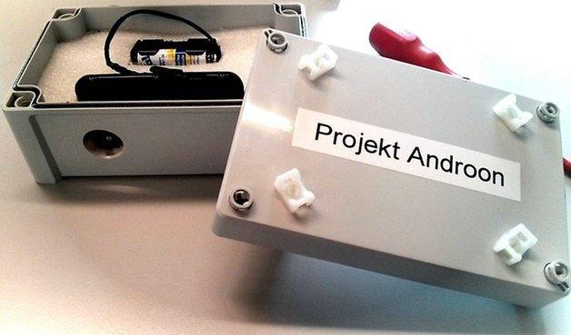 projekt androon box