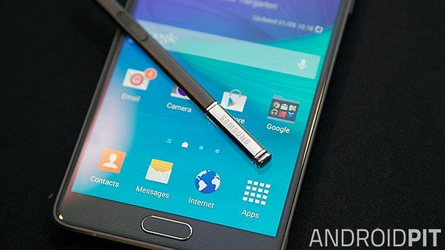 samsung galaxy note 4 front s pen