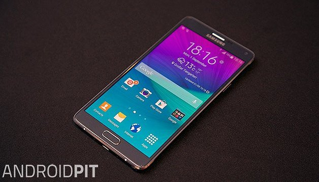 How to set up the Galaxy Note 4 for the first time