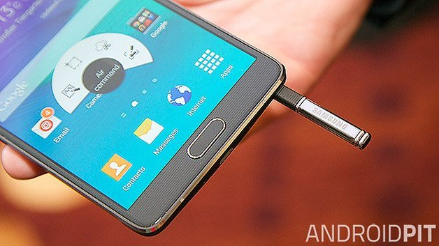samsung galaxy note 4 s pen close up