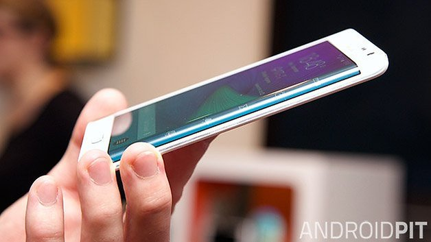 samsung galaxy note edge side