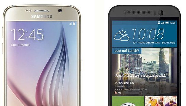 Galaxy S6 vs HTC One M9 comparison: MWC's best devices go head-to-head