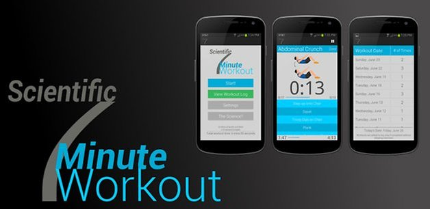 scientific seven minute workout teaser