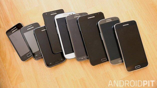 smartphones samsung displays