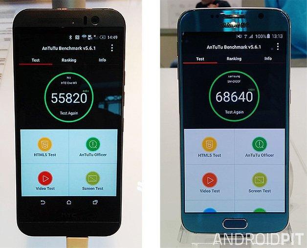 snapdragon 810 vs exynos 7420 htc one m9 galaxy s6 02