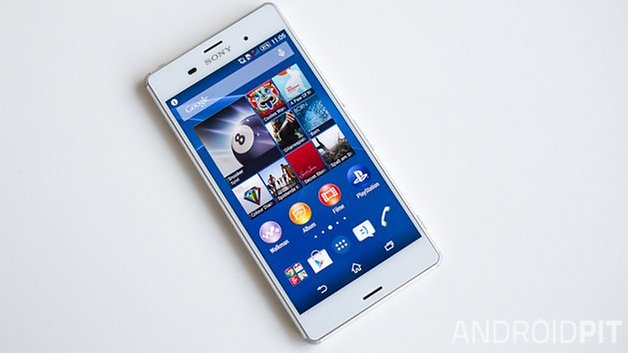 xperia z3 homescreen