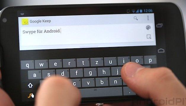 Swype: Geschwindigkeit und Leistung der Tastatur-App verbessert