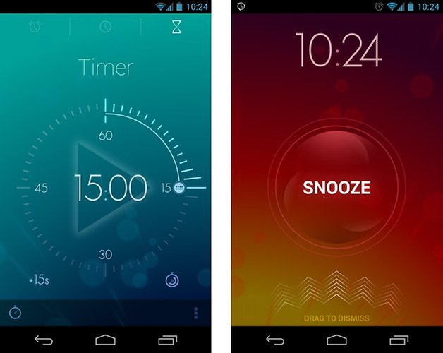 timely alarm clock timer snooze