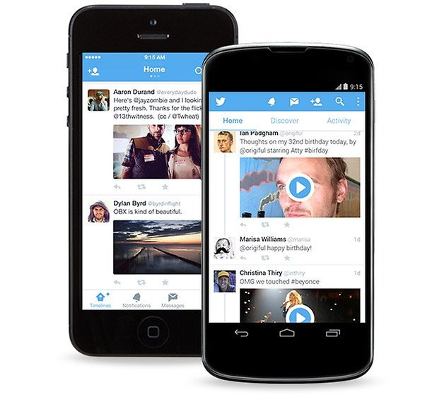 twitter update iphone nexus 4