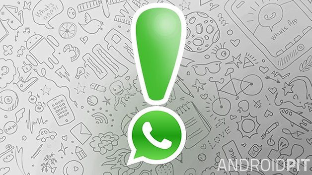 whatsapp exclamation