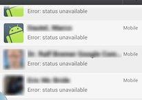 Seu status no WhatsApp pode aparecer como indisponível neste momento!