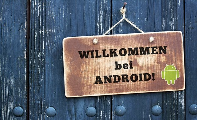 willkommen bei android teaser