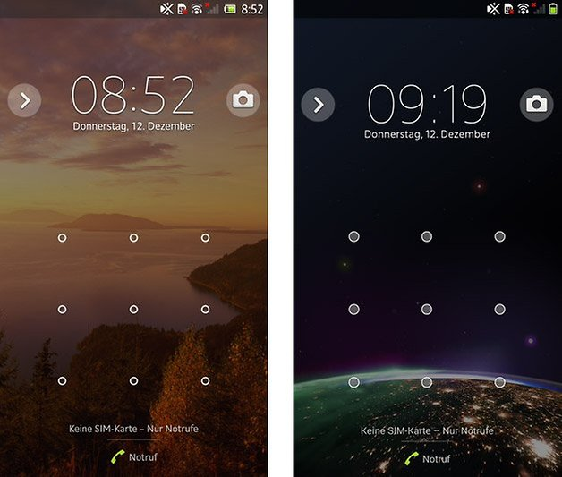 xperia z android 4 2 4 3 lockscreen