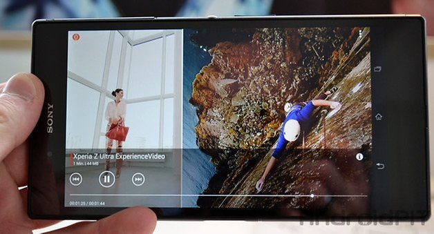 xperia z ultra videos
