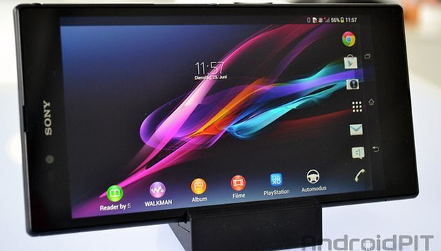 Testing the Xperia Z Ultra: the last of the Sony Xperia Z Series