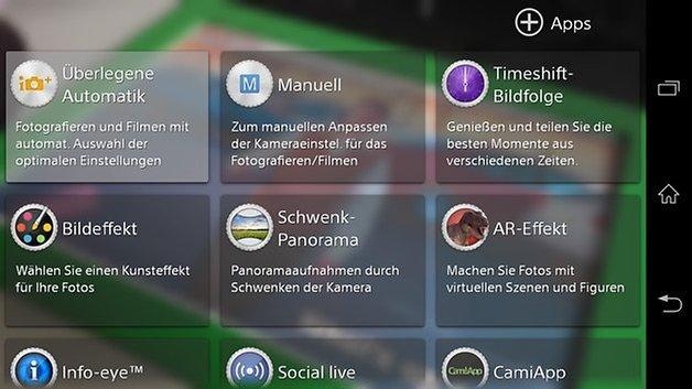 xperia z1 kamera app