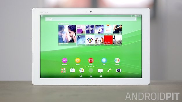 sony xperia z4 tablet front
