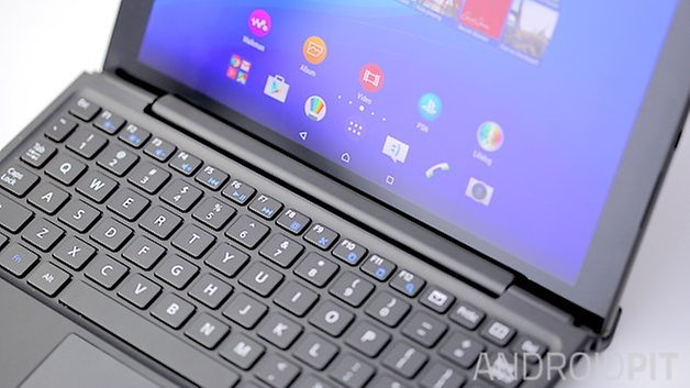 sony xperia z4 tablet keyboard close