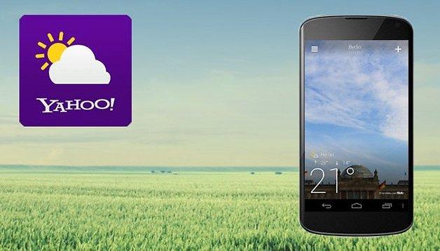 Immer schöne Aussichten mit Yahoo! Wetter