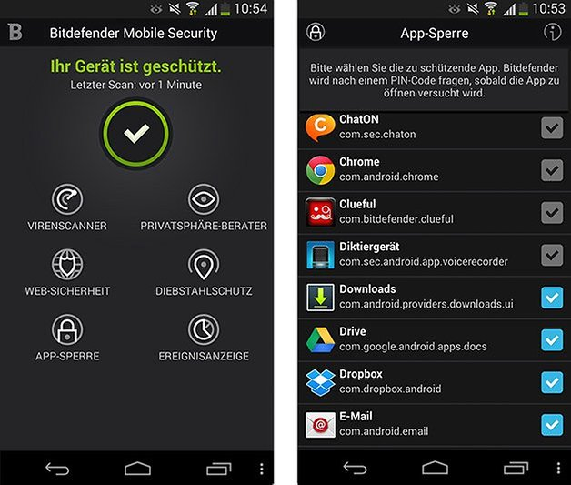 bitdefender screenshot DE