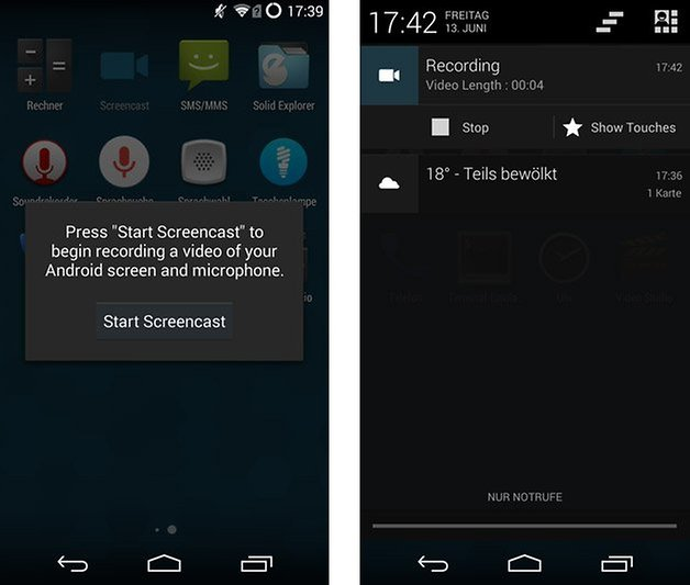 cyanogenmod 11 screencast