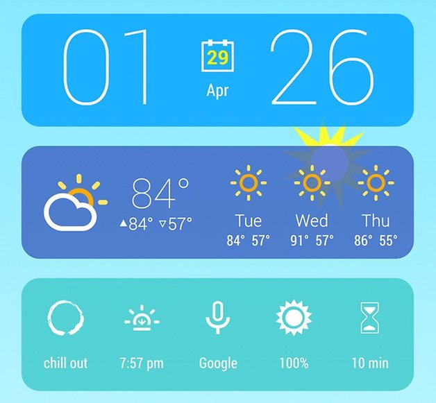 hd widgets 4 kairo theme