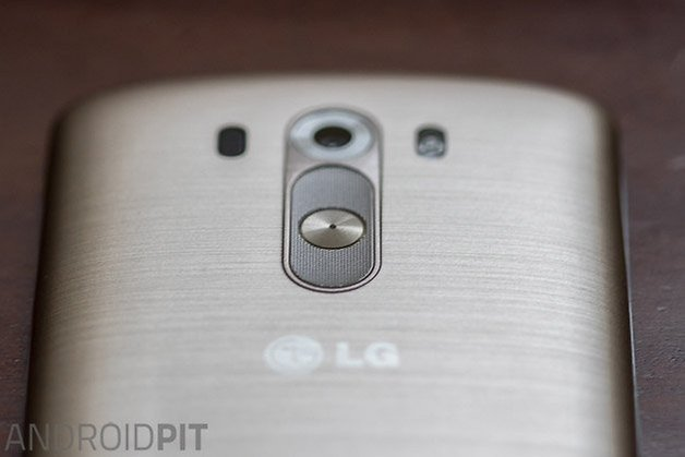 lg g3 hands on back top