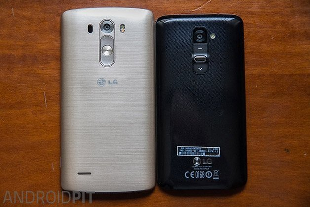 lg g3 hands on comparison g2 back