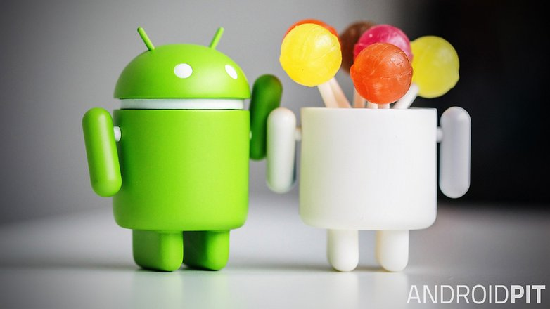 android bugdroid lollipop hero