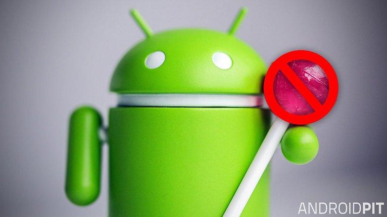 android lollipop unterbrechungen teaser