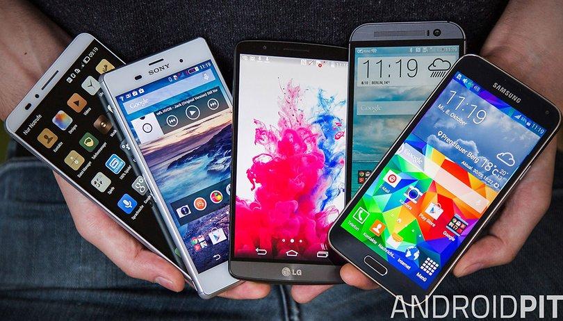 Diese Smartphones nutzt die AndroidPIT-Redaktion