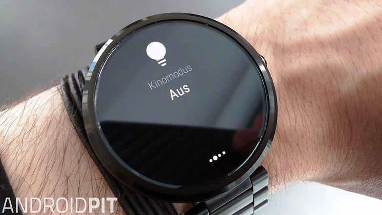 moto 360 android wear kinomodus