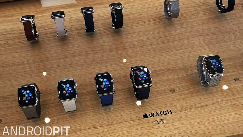 apple watch displays