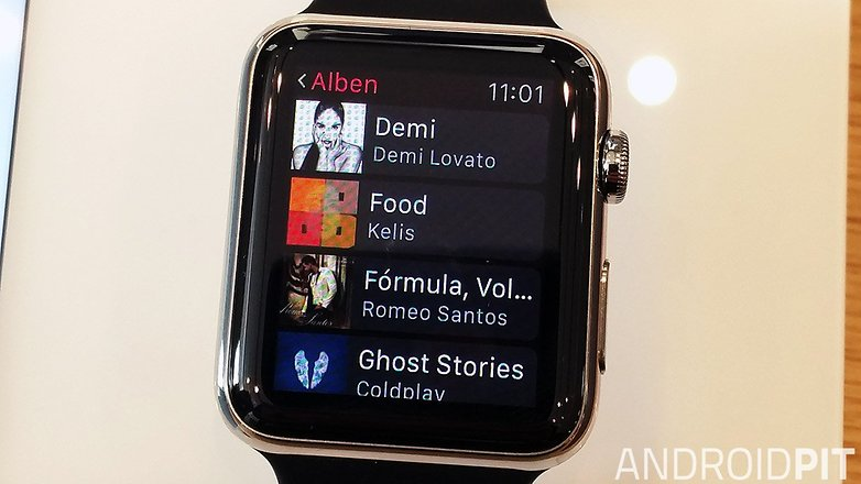 apple watch musik