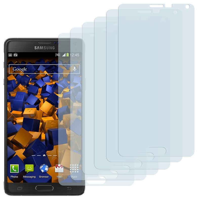 galaxy note 4 mumbi displayschutz