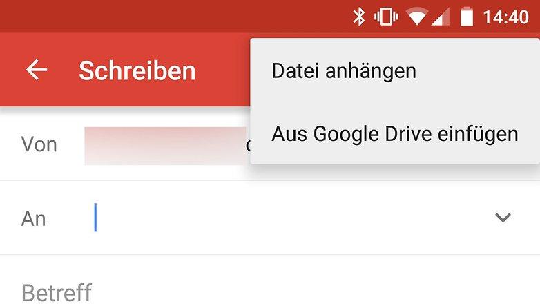 google drive gmail anhaengen