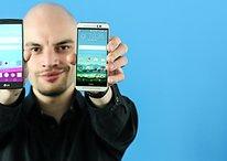 LG G4 vs. HTC One M9: Plastik gegen Alu
