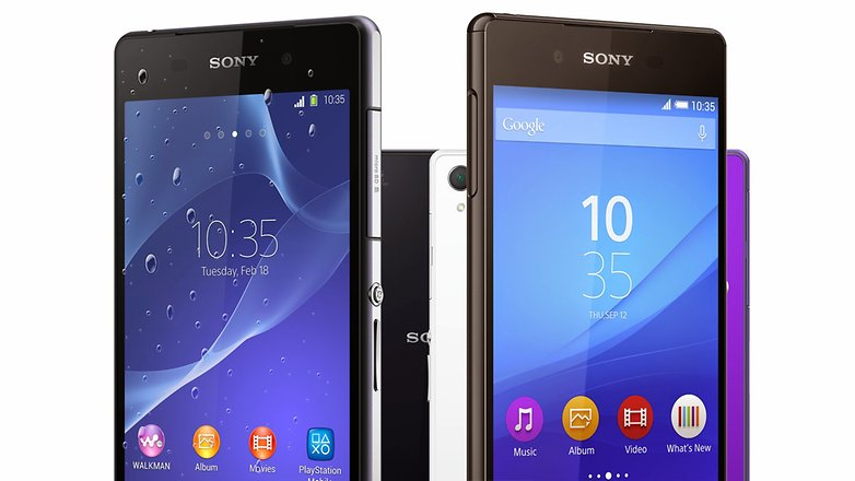 sony xperia z2 vs sony xperia z3 plus