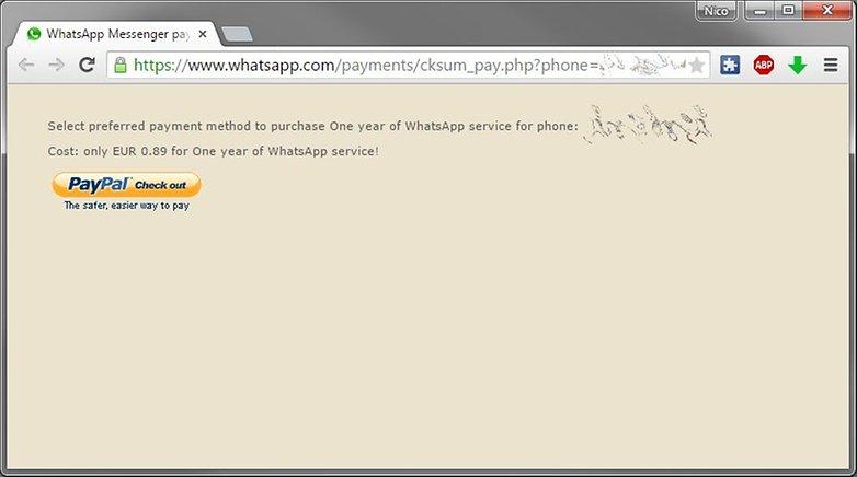 whatsapp bezahlen web paypal