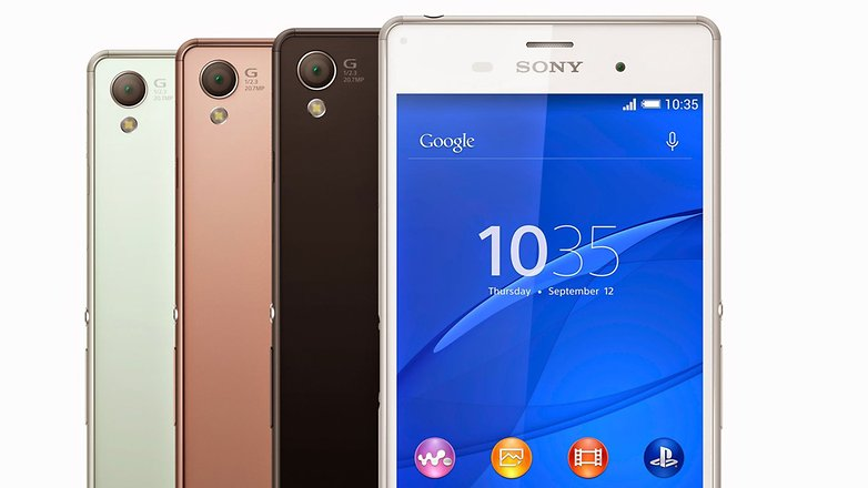 xperia z3 colors