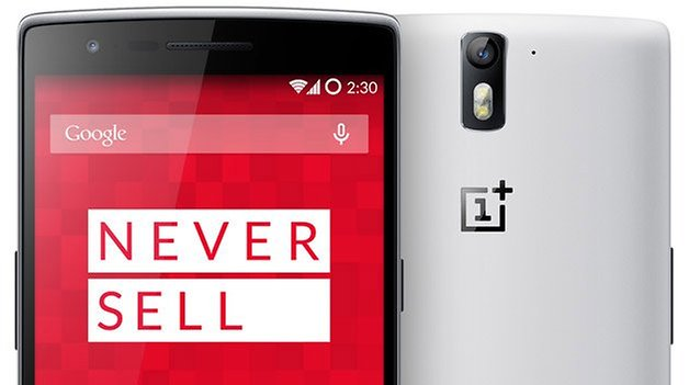 oneplus one never sell teaser