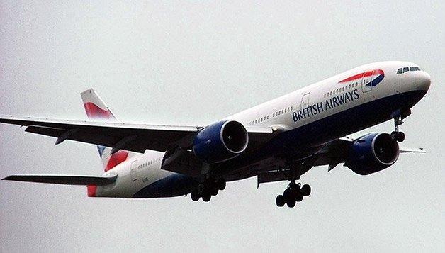plane british airways