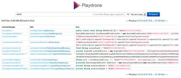 playdrone amazon web service tokens